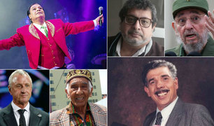 Las personalidades que fallecieron en el 2016