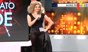 El día que Luciana León deslumbró en la pista de baile