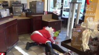 Papá Noeles violentos: cuando la Navidad deja de ser una fiesta de paz y amor