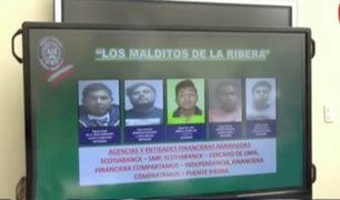 Capturan a banda que asaltaba bancos en Lima Norte
