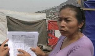 Cantagallo: familias fueron estafadas con falsa donación de módulos