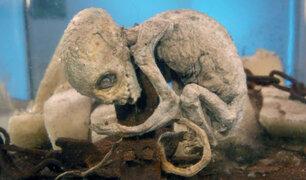 Ufólogo presenta supuesto cadáver petrificado de extraterrestre