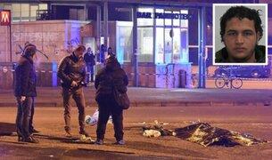 Abaten a sospechoso de atentado en mercado de Berlín