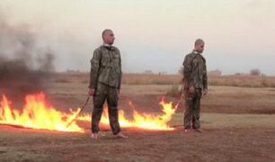 Siria: Estado Islámico quemó vivos a dos soldados turcos