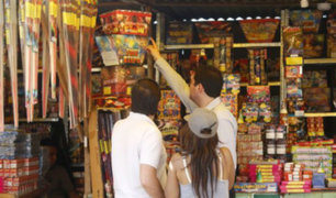 Más de 4 mil soles de multa por utilizar o comercializar artefactos pirotécnicos detonantes