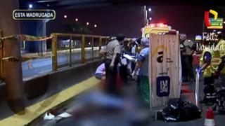 Joven muere atropellado por minivan en Vía Evitamiento