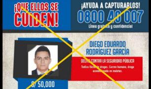 Huánuco: capturan a narco por quien se ofrecía 50 mil soles de recompensa
