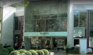 Delincuentes aprovecharon ruido de fuegos artificiales para robar joyería en San Isidro