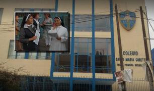 La Victoria: monjas se oponen a instalación de antena de telefonía