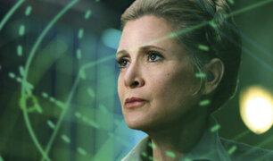 Actriz de Star Wars, Carrie Fisher, falleció a los 60 años