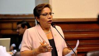 Luz Salgado dijo que algunos proyectos de la reforma no pasarían por referéndum