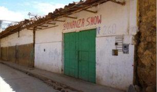 La Libertad: joven es atacado al interior de un local en Huamachuco