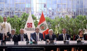 Foro de Acuerdo Nacional abordó tema de inseguridad ciudadana