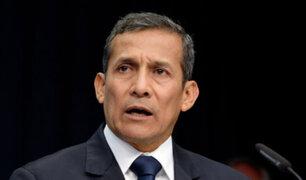 Ministerio Público: en enero Ollanta Humala será interrogado en calidad de investigado