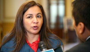 Marisol Espinoza renunció a Comisión Lava Jato por permanencia de Bartra como presidenta
