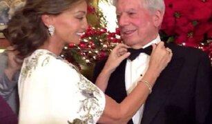 Mario Vargas Llosa e Isabel Preysler protagonizaron un 'Mannequin Challenge'