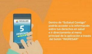 Susalud lanzó aplicativo para emergencias de los bañistas