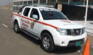Ayacucho: presuntos narcoterroristas atacan patrullero policial