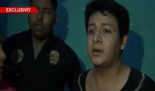 Registran preciso instante de la captura de Ronny García