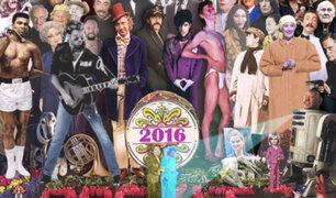 Twitter: El genial y desgarrador homenaje de un artista a todos los que se fueron este 2016