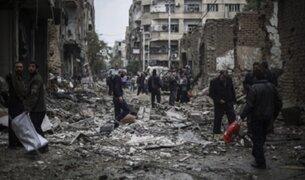Crisis humanitaria: bombardeos y civiles acorralados en Medio Oriente