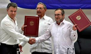 Se firmó el acuerdo de Paz entre Colombia y las FARC