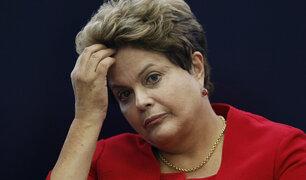Brasil: presidente admite venganza en caso Rousseff