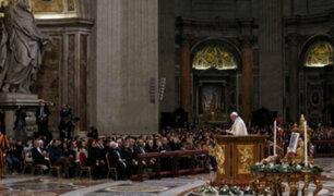 Vaticano: Papa Francisco da último mensaje del año y pide por los jóvenes