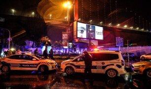 Atentado en discoteca de Estambul deja al menos 35 muertos y varios heridos