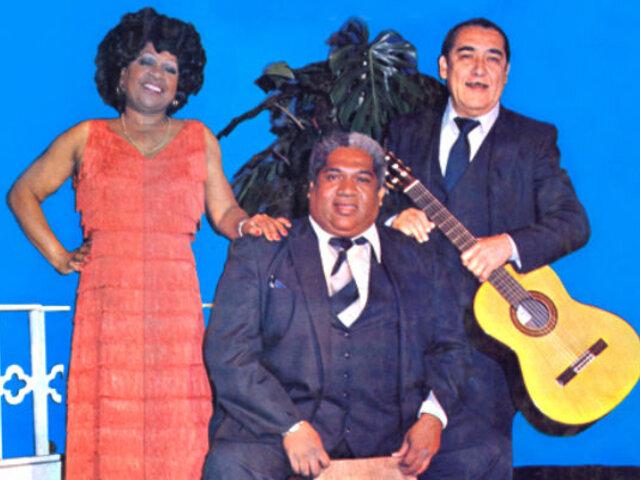 """El día que Lucila Campos cantó junto al """"Zambo"""" Cavero y Óscar Avilés"""