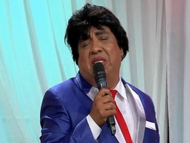 Manolo Rojas y su magistral imitación a Juan Gabriel