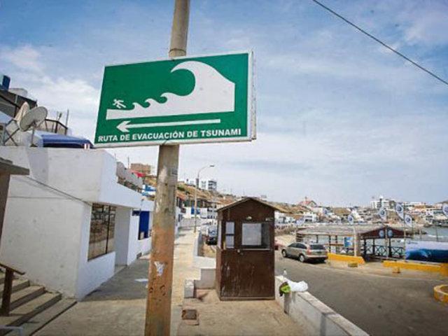 Callao: sistema de alarma de tsunami funcionará desde noviembre
