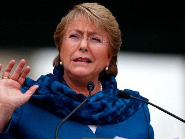 Michelle Bachelet negó vínculos con constructora brasileña OAS