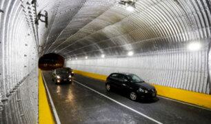 MML: rehabilitan túnel que une Lima con la Costa Verde