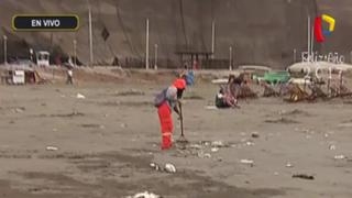 Barranco: inician limpieza de playa 'Los Yuyos'