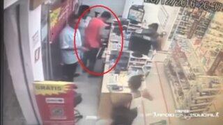 El trágico final de un ladrón durante asalto a una farmacia en Brasil
