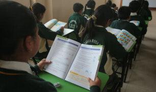 Estudiantes de colegios públicos retornan a clases este 13 de marzo