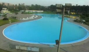 Parque zonal Huayna Cápac: verano en una de las piscinas más grandes del país