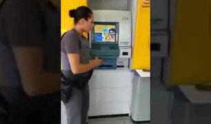 YouTube: Esta modalidad de robo en cajeros automáticos es lo más insólito y espeluznante que puedas imaginar [VIDEO]