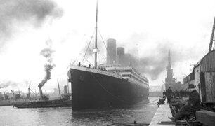 Un incendio habría hundido el Titanic y no el choque con un iceberg
