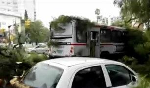 Uruguay: intensas lluvias causan graves daños en Montevideo