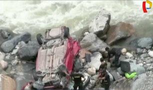 Continúa búsqueda de hombre desaparecido tras accidente en Quillabamba
