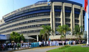Congreso recomienda derogar norma que incorpora al INEN al Ministerio de Salud