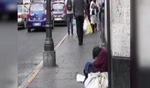 Arequipa: investigan a hermanos por obligar a su madre a pedir limosna