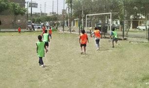 Los Olivos: escuela de fútbol y vóley para los más pequeños