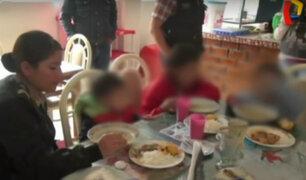 Huancayo: rescatan a menores abandonados por su madre