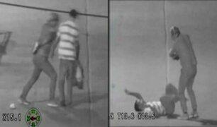 Tumbes: cámara de seguridad capta pelea de hombres ebrios