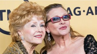 Hollywood da el último adiós a Carrie Fisher y Debbie Reynolds