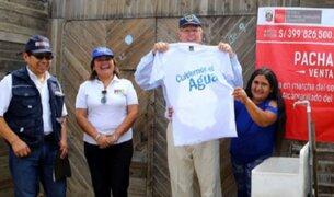 Ventanilla: inauguran servicio de agua potable y alcantarillado en Pachacútec