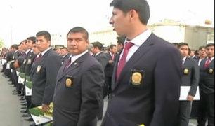 Incorporan a 500 policías especializados para luchar contra la delincuencia